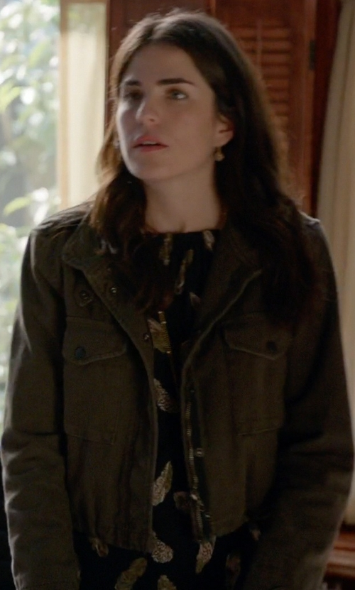 Karla Souza with Rag & Bone State Jacket in How To Get Away With Murder