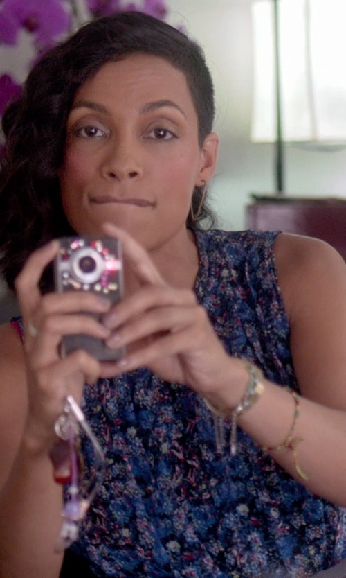 Rosario Dawson with Canon Powershot Digital Camera in Top Five