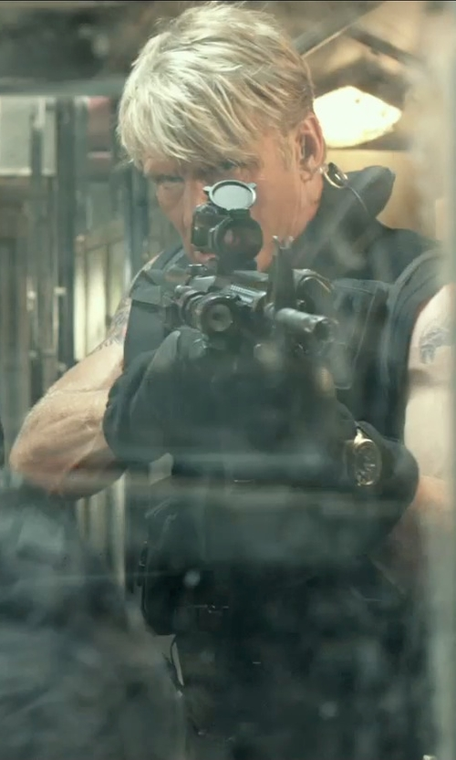 Dolph Lundgren with 5.11 Tactical ATAC Glove in The Expendables 3