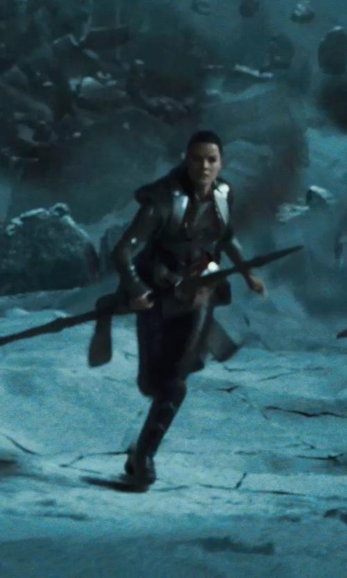 Jaimie Alexander with Alexandra Byrne (Costume Designer) Custom Made 'Sif' Costume in Thor