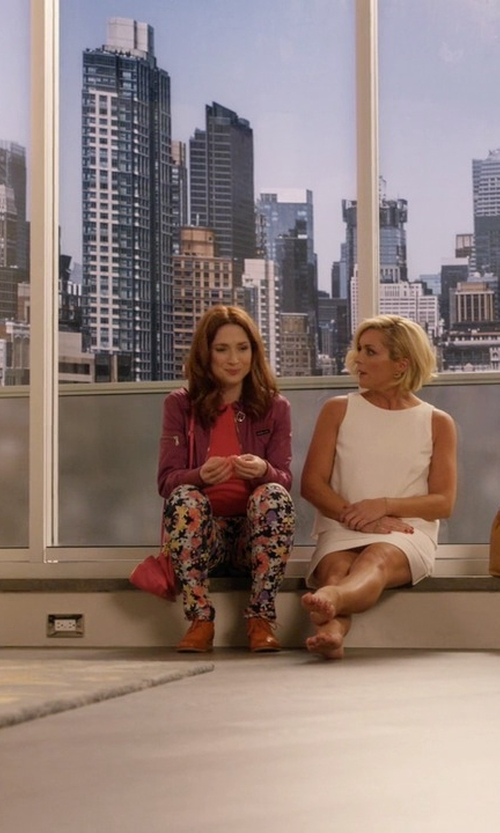 Ellie Kemper with Steve Madden Benjamin Oxford Flats in Unbreakable Kimmy Schmidt