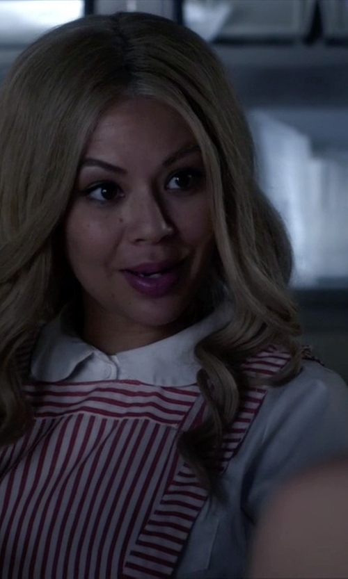 Janel Parrish with Cora De Adamich Shirt in Pretty Little Liars
