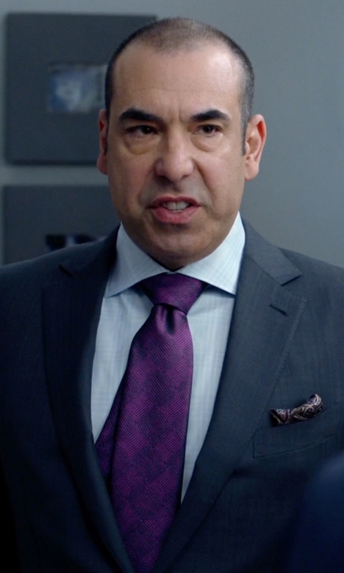 Rick Hoffman with Ralph Lauren Anthony Sharkskin Suit in Suits