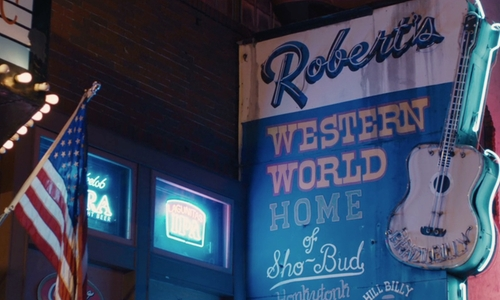 Unknown Actor with Robert's Western World Nashville, Tennessee in Master of None