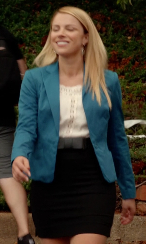 Teressa Liane with Theory Edition Pencil Skirt in The Vampire Diaries