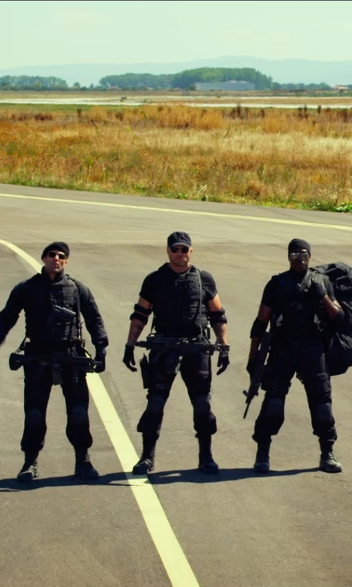 Randy Couture with Gents The Directors Baseball Cap in The Expendables 3