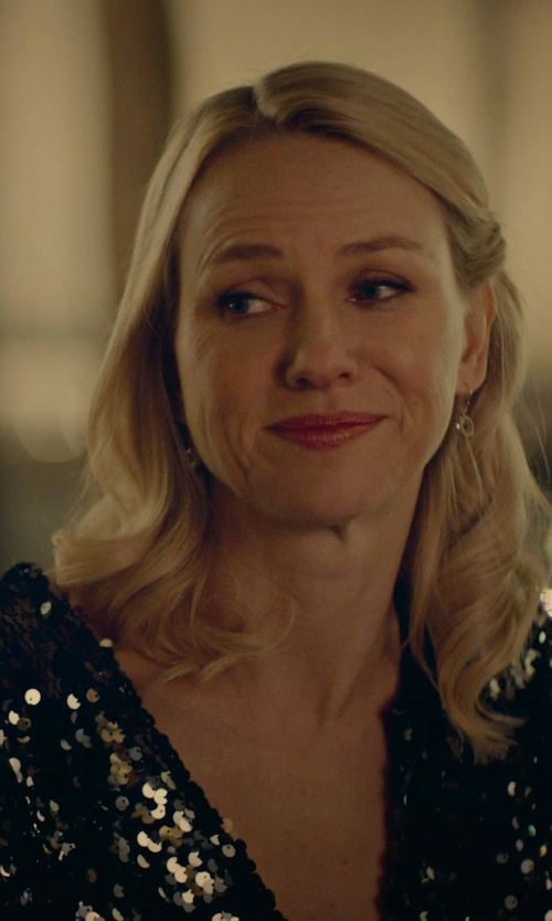 Naomi Watts with Free People Emerald City Dress in While We're Young