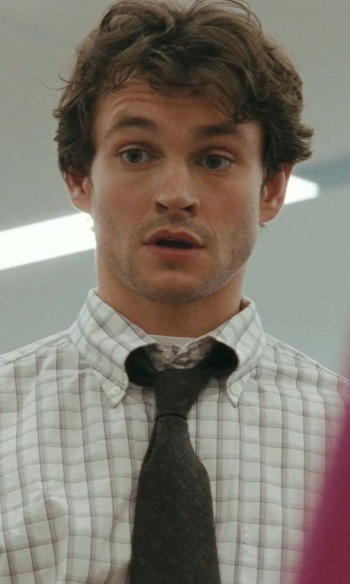 Hugh Dancy with Dolce & Gabbana Floral Jacquard Necktie in Confessions of a Shopaholic