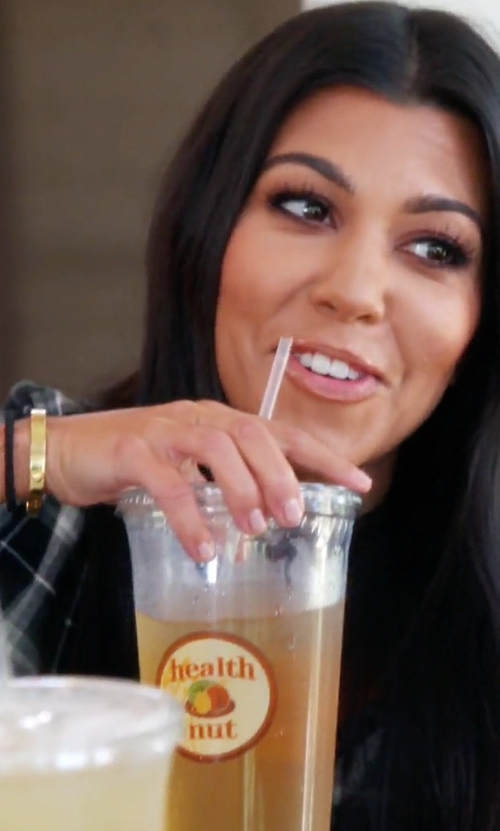 Kourtney Kardashian with Cartier Love Bracelet in Keeping Up With The Kardashians