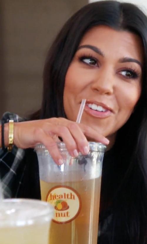 Kourtney Kardashian with Cartier Love Bracelet in Keeping Up With The Kardashians