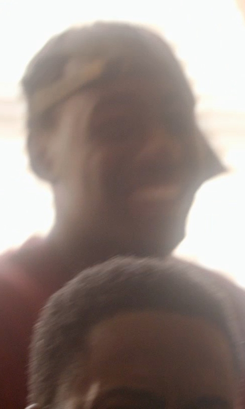 Jay Pharoah with Gents Leather Brim Tweed Baseball Cap in Top Five