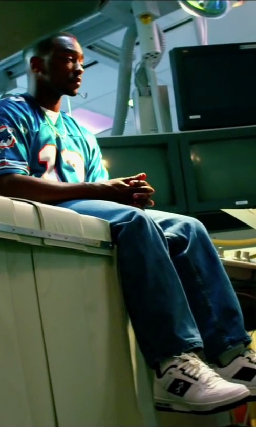 Anthony Mackie with 7 For All Mankind Austyn Straight Leg Jeans in Pain & Gain