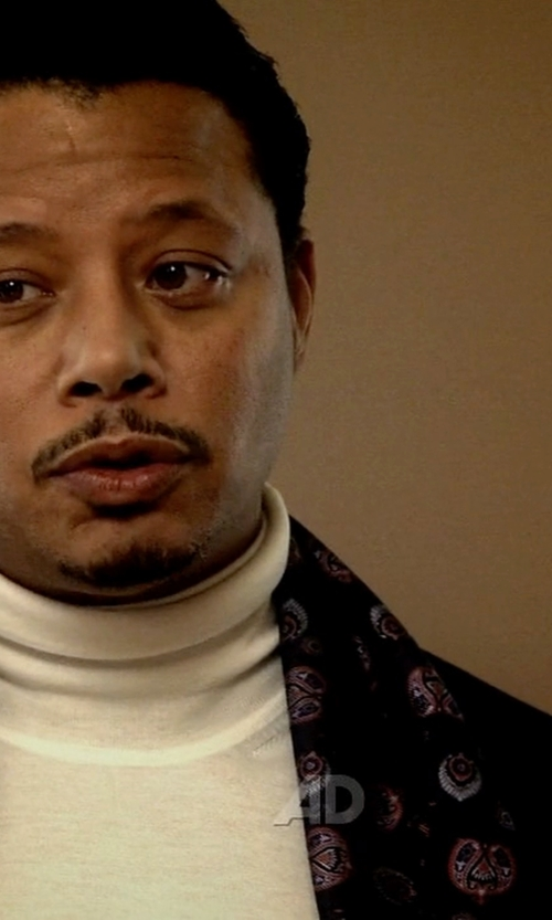 Terrence Howard  with Lardini Two Piece Suit in Empire