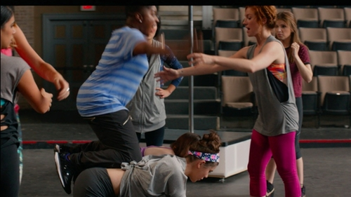 Ester Dean with Adidas Black Stripe Sneakers in Pitch Perfect 2