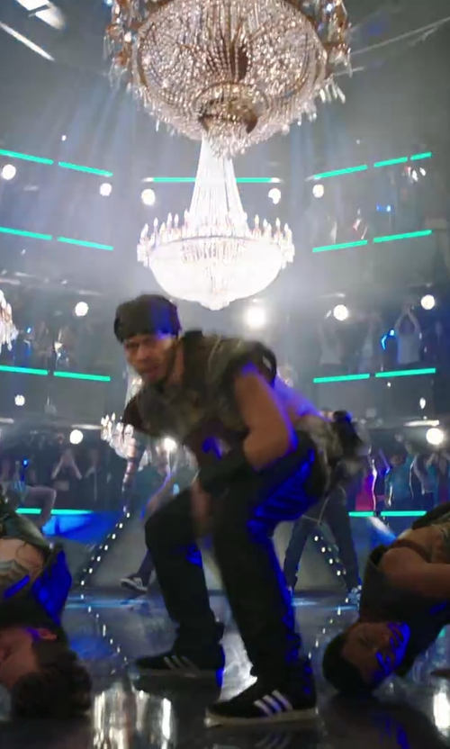 Stephen Stevo Jones with Adidas Samba Classic Shoes in Step Up: All In