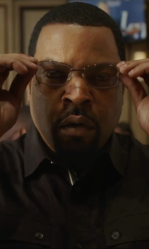 Ice Cube with Davis Smith Optics Eyeglasses in Barbershop: The Next Cut