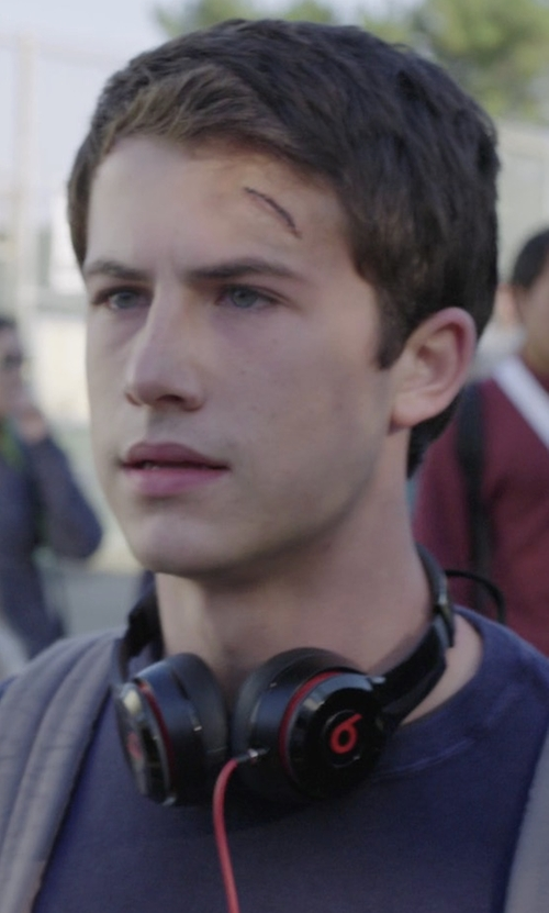 Dylan Minnette with Beats Solo2 On-Ear Headphones in 13 Reasons Why