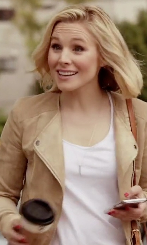 Kristen Bell with Suncoo Dimitri Jacket in The Good Place