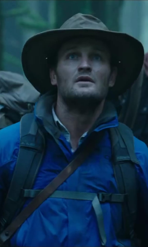 Jason Clarke with VOLCOM Men's Forest Jacket in Dawn of the Planet of the Apes