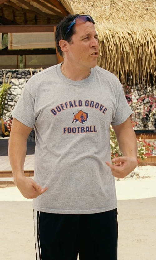 Jon Favreau with Buffalo Grove High School Bison Men's American Classic T-Shirt in Couple's Retreat