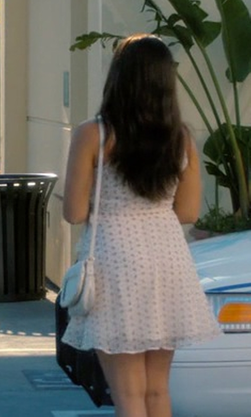 Gina Rodriguez with Kate Spade New York Orchard Street Penelope Crossbody Bag in Jane the Virgin