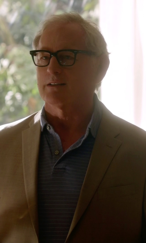 Victor Garber with Z Zegna Classic Casual Blazer in The Flash