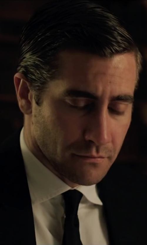 Jake Gyllenhaal with Brooks Brothers Solid Repp Tie in Demolition