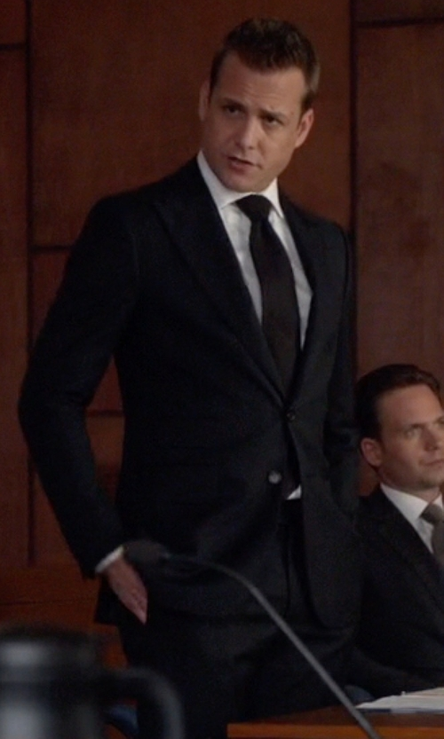 Gabriel Macht with Tom Ford Slim Fit Peak Lapel Wool Suit in Suits