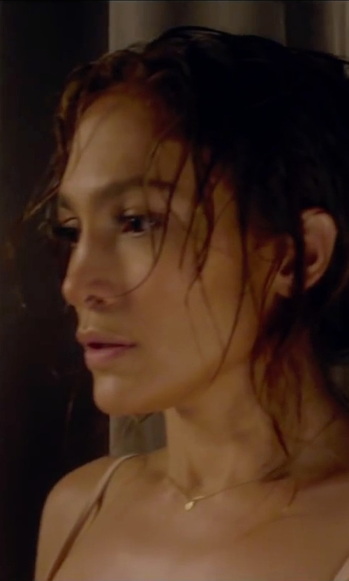 Jennifer Lopez with Kalan by Suzanne Kalan Sapphire Pendant Necklace in The Boy Next Door