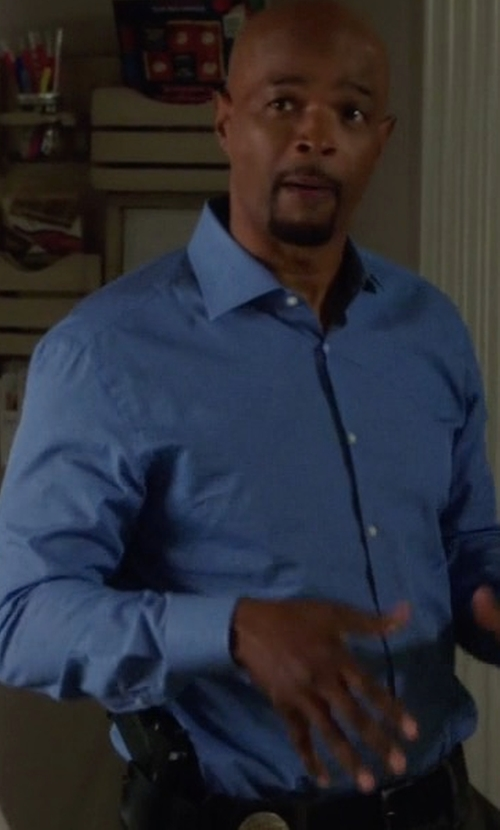 Damon Wayans with Michael Kors Italian-Woven Sport Shirt in Lethal Weapon
