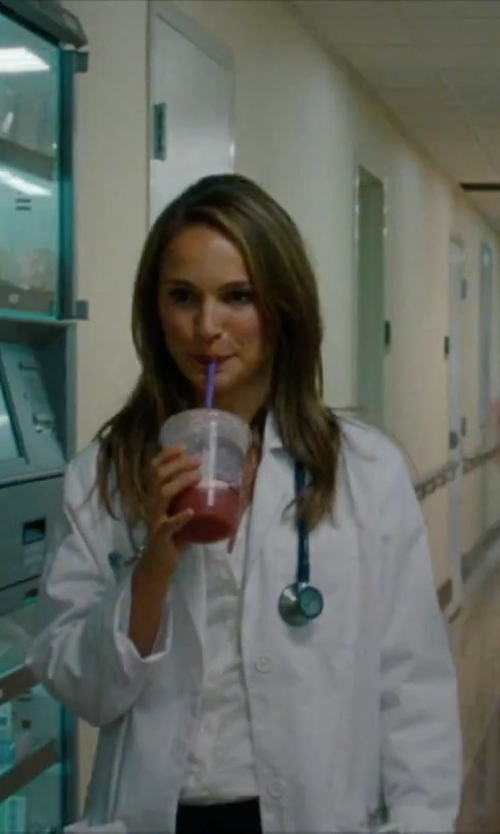 Natalie Portman with Omron Sprague Rappaport Stethoscope in No Strings Attached
