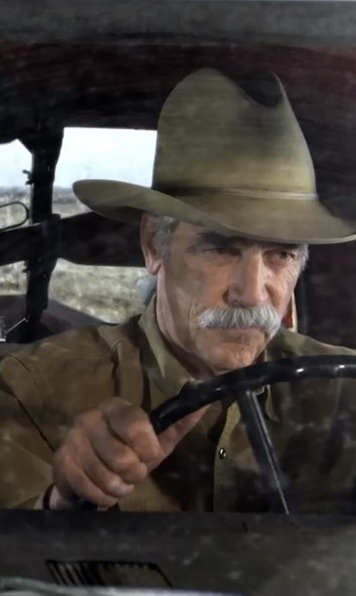 Sam Elliott with Charlie 1 Horse Desperado Wool Cowboy Hat in The Ranch