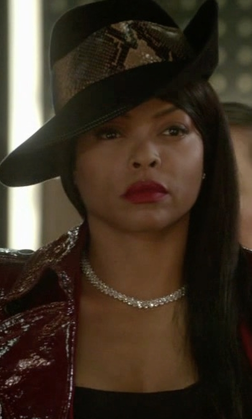 Taraji P. Henson with Ale By Alessandra Luna Hat in Empire