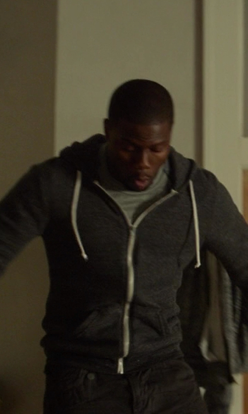 Kevin Hart with Cardigan Alex Zip Up Hoodie in Ride Along