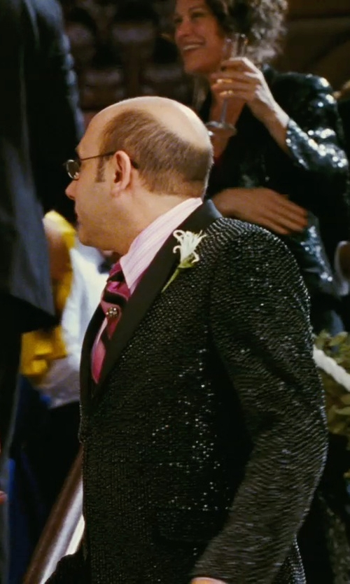 Willie Garson with Charvet Ribbon-Striped Dress Shirt in Sex and the City