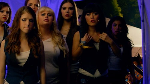 Hana Mae Lee with Custom Tuxedo Vest in Pitch Perfect 2