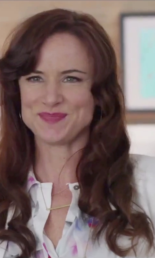 "Juliette Lewis with Melissa Joy Manning ""MJM Classic"" Hoop Earrings in Jem and the Holograms"