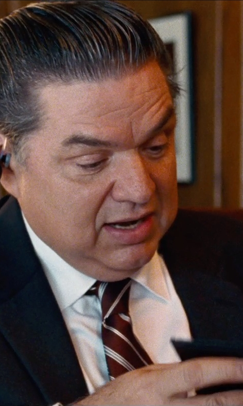 Oliver Platt with Nautica Two-Button Center-Vent Suit in Cut Bank