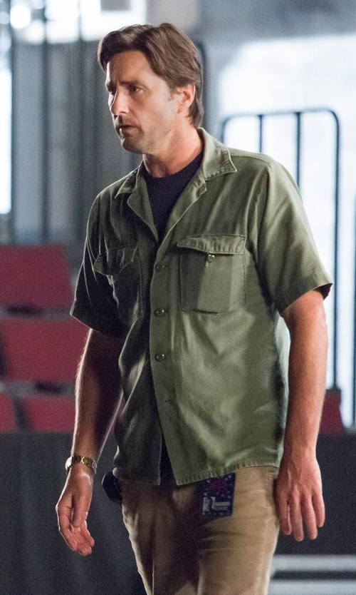Luke Wilson with 5.11 Tactical Short Sleeve Tactical Shirt in Roadies