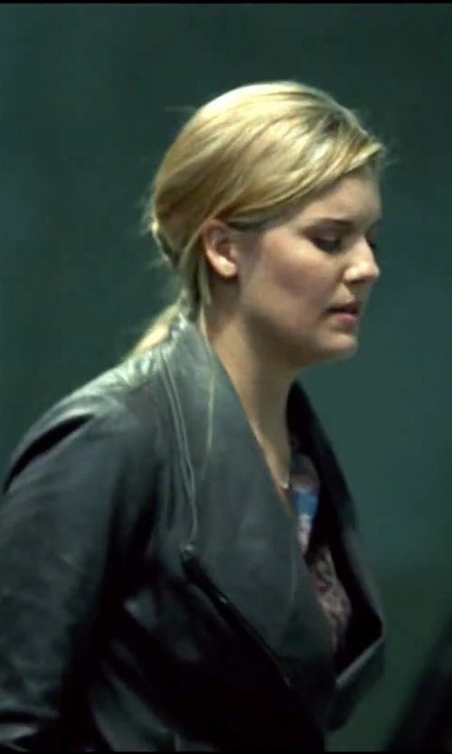 Maggie Grace with Dolce & Gabbana Blouse in Taken 3