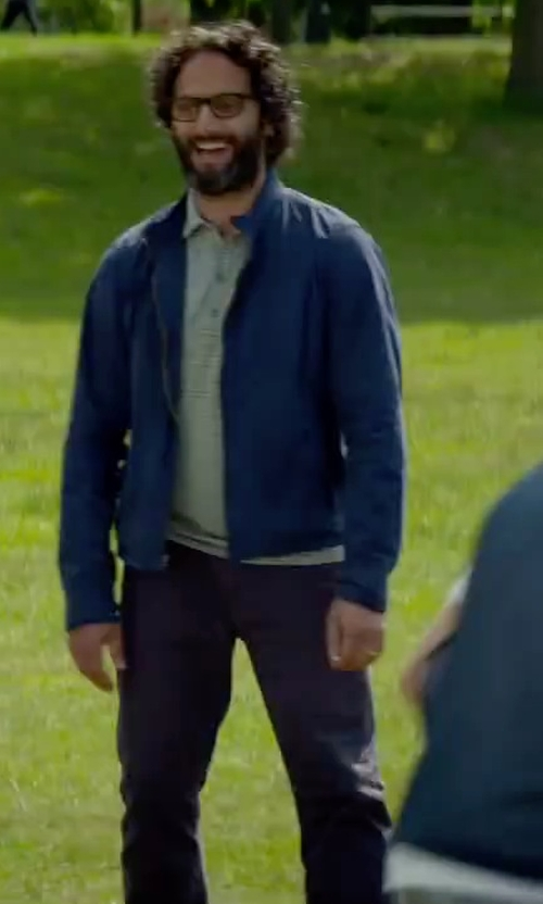Jason Mantzoukas with N. Hoolywood Denim Pants in Sleeping with Other People