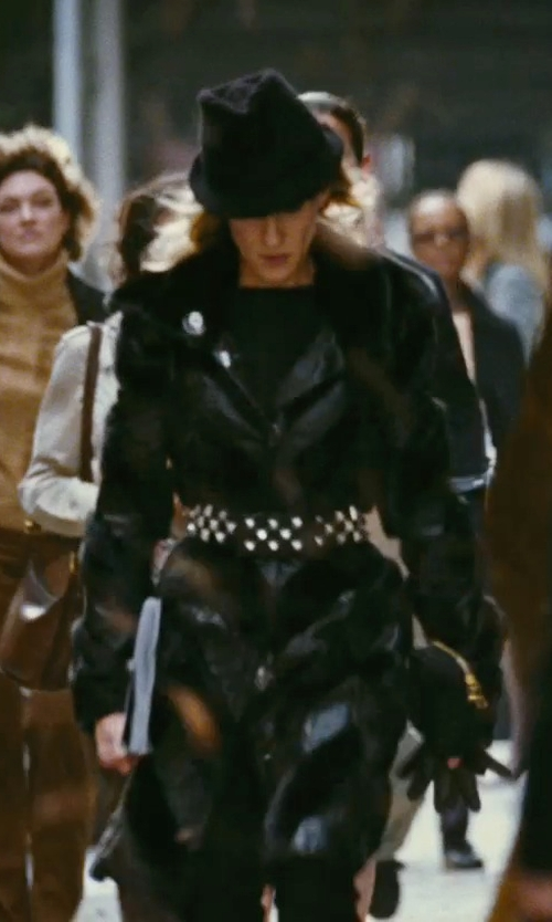 Sarah Jessica Parker with Prada Clutch Bag in Sex and the City
