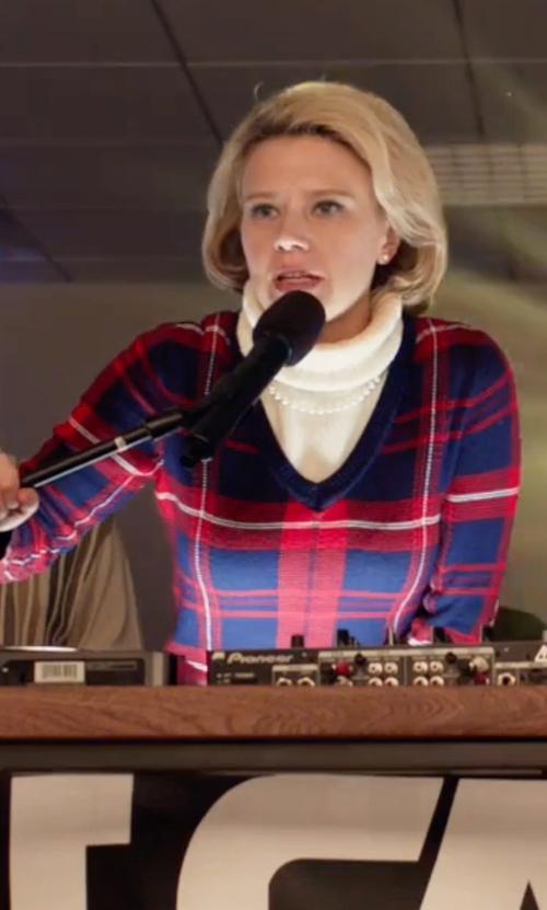 Kate McKinnon with MKT Studio Killer Turtleneck Sweater in Office Christmas Party