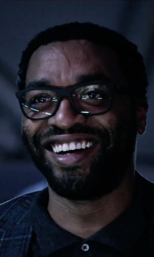 Chiwetel Ejiofor with Oliver Peoples OPLL 51 Optical Glasses in The Martian
