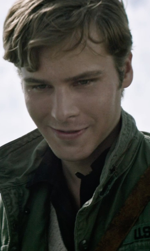 Anthony Ingruber with Jeepmove Casual Jacket Military Uniform in The Age of Adaline