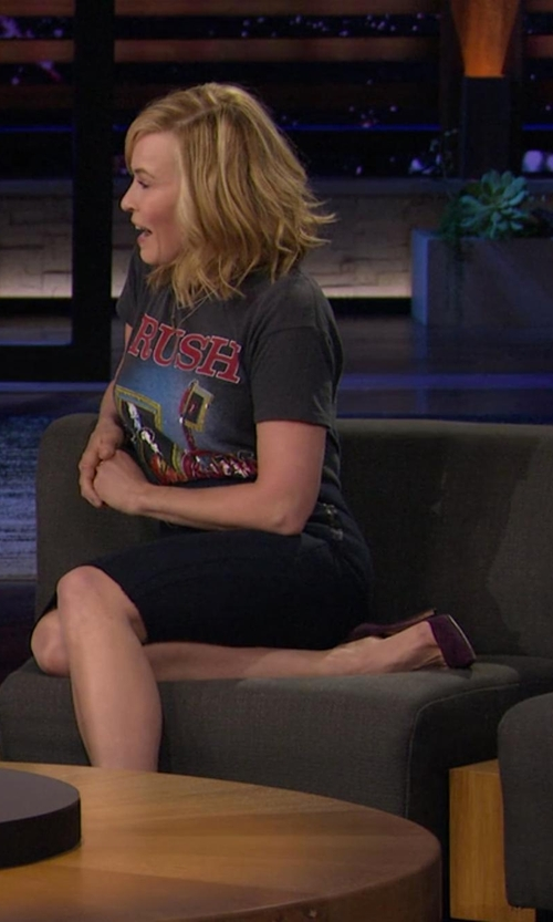 Chelsea Handler with Jimmy Choo 'Abel' Pumps in Chelsea