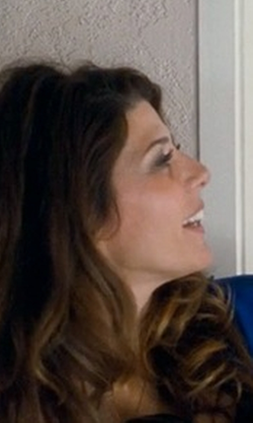 Marisa Tomei with Lucky Fifty7 Studded Leather Envelope Clutch Bag in Crazy, Stupid, Love.
