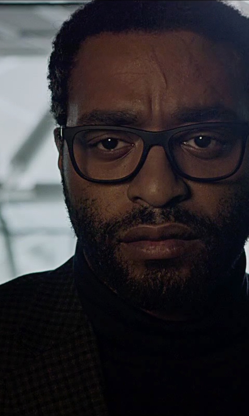 Chiwetel Ejiofor with Barneys New York Check Two-Button Sportcoat in The Martian