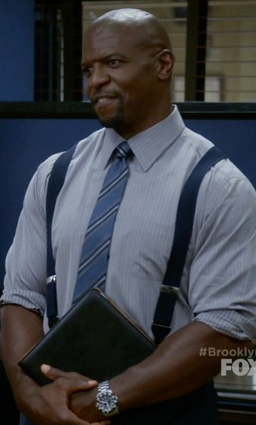 Terry Crews with Invicta Pro Diver Multi-Function Stainless Steel Watch in Brooklyn Nine-Nine
