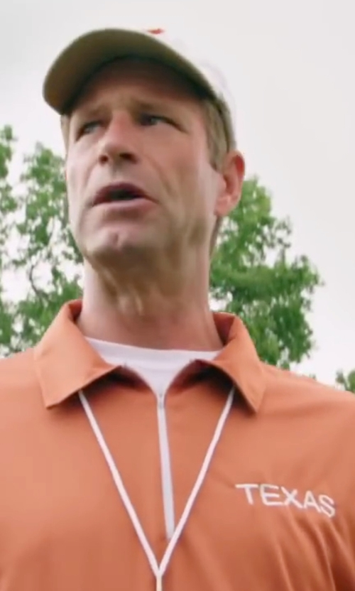 Aaron Eckhart with Ermenegildo Zegna	 Crewneck Stretch-Cotton Tee in My All American